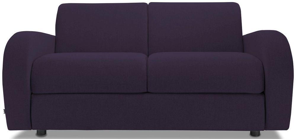 Retro Aubergine 2 Seater Sofa Bed
