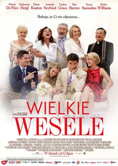 ''The Big Wedding - WIELKE WESELE'' 2013 Polish movie ...