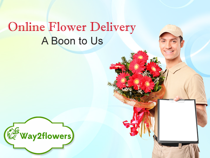 Online Flower Delivery via Way2flowers.com