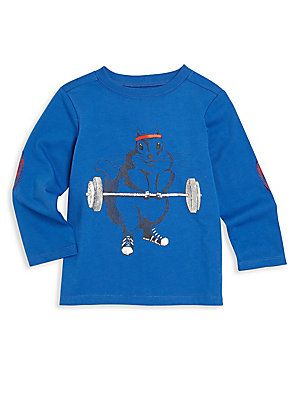 Andy & Evan Baby's, Toddler's & Little Boy's Squirrel Graphic Tee