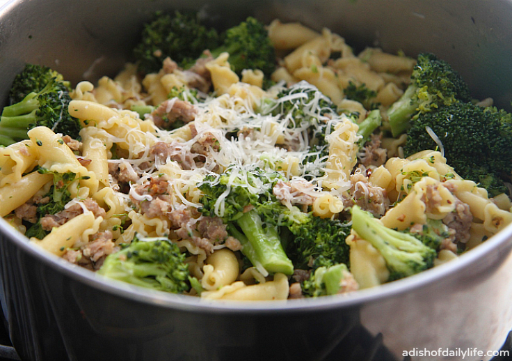 Sausage Broccoli Pasta | Recipe | Broccoli pasta