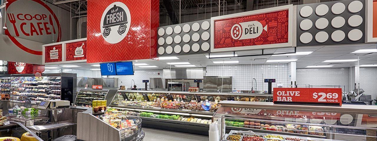 Calgary Coop Retail design, Store design, Design