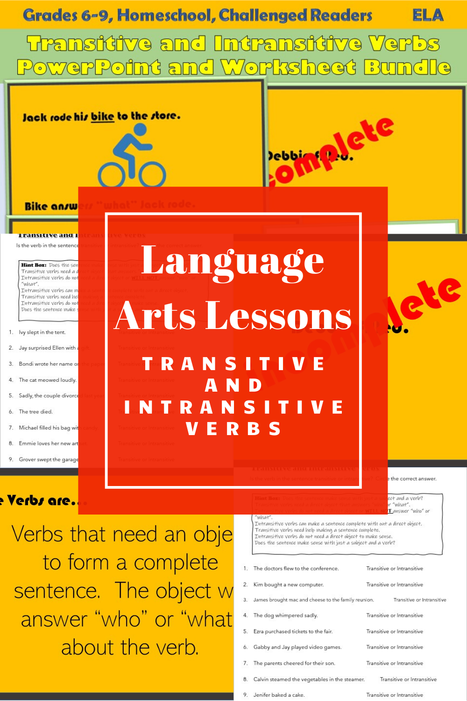 Language Arts Lessons Transitive And Intransitive Verbs Verbs Powerpoint Intransitive Verb Language Arts Lessons [ 1500 x 1000 Pixel ]