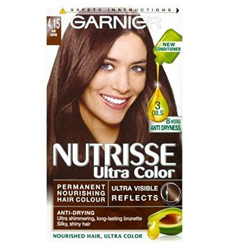 Garnier Nutrisse Ultra Permanent Colour 4 15 Iced Coffee Review