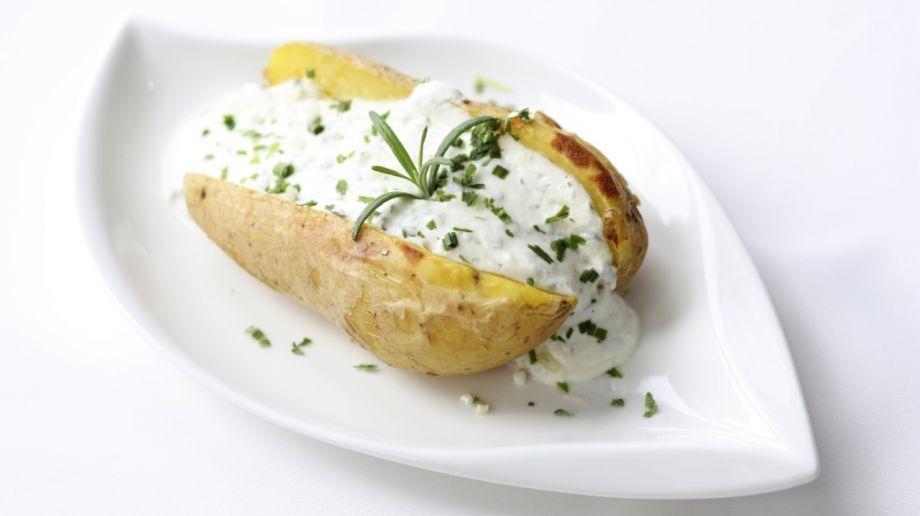Zemiaky plnené bryndzou | Recepty.sk
