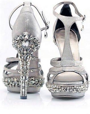 Ferragamo Swarovski Crystal Embellished Masterpiece