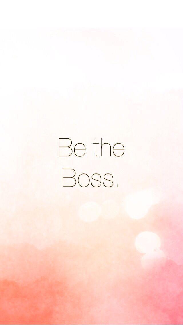 Don't be bossy, be the boss. entrepreneur, entrepreneur inspiration, #business, #startup