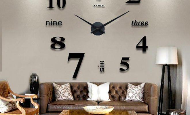 Unique Modern Wall Clocks Ideas For Minimalist Room Clock Wall Decor Large Wall Clock Decor Big Wall Clocks Living room accessories wall clock