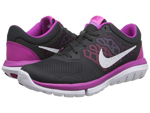 0b50c209f336 Nike Flex 2015 RUN Anthracite Fuchsia Flash Fuchsia Glow Pink Pow -  Zappos.com Free Shipping BOTH Ways