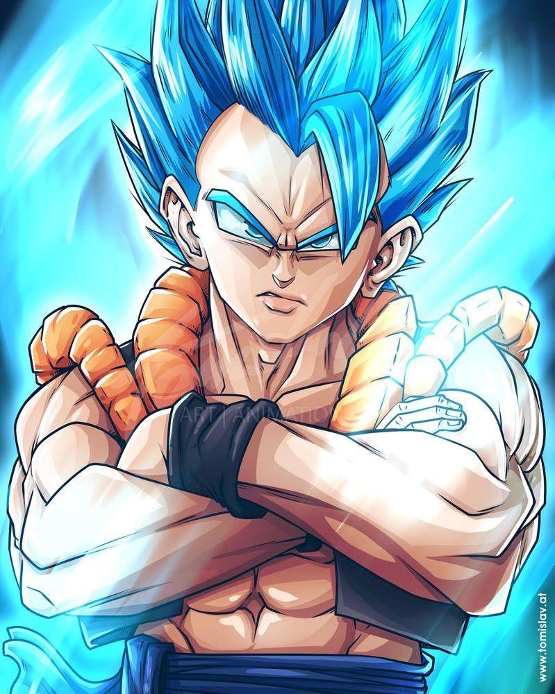 Gogeta Ssb Live Drawing By Tomislavartz Dragon Ball Super Art Dragon Ball Artwork Dragon Ball Art