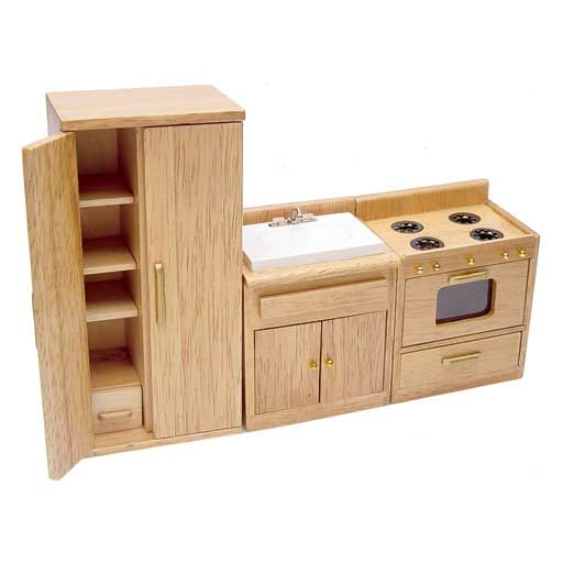 3-Pc. Oak Traditional Kitchen Set #traditionalkitchen
