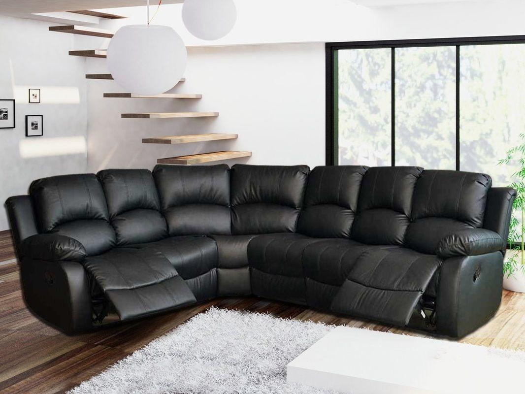 Peachy Elegant Leather Corner Recliner Sofa 18 With Additional Creativecarmelina Interior Chair Design Creativecarmelinacom