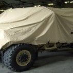 Stuart Canvas has been appointed by the Ministry of Defence (MoD) to provide a protection system to a range of military vehicles as they are withdrawn from