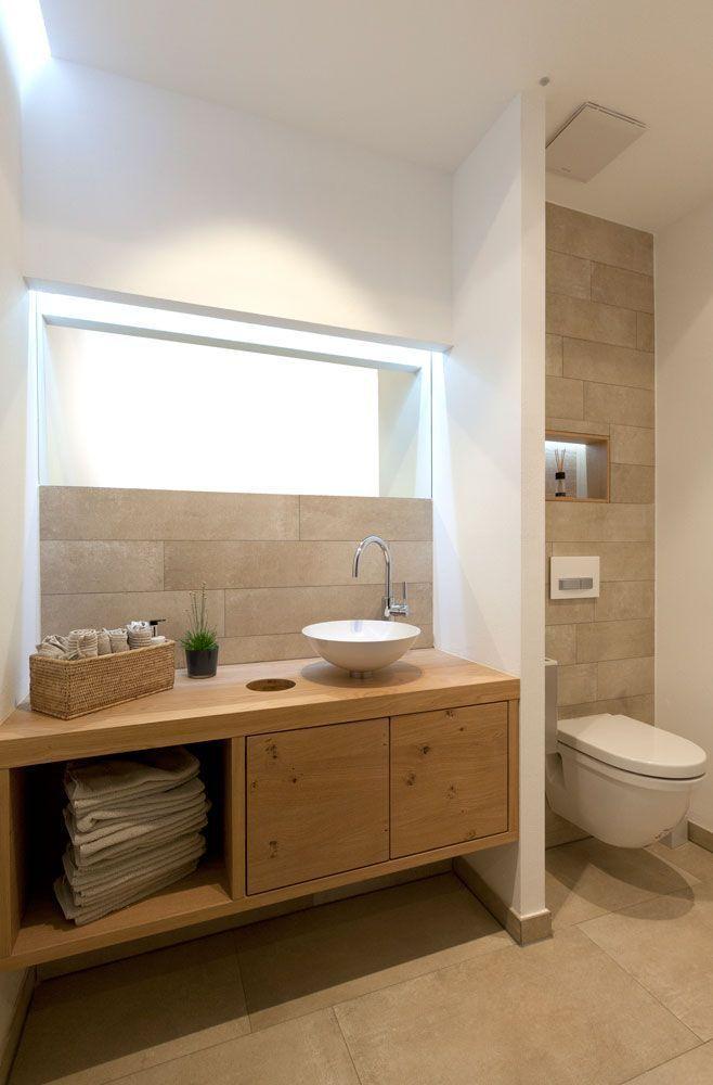 Pin By Mado Syriani On Salle De Bain Bickfaya Master In 2020 Wooden Bathroom Vanity Bathroom Design Small Bathroom