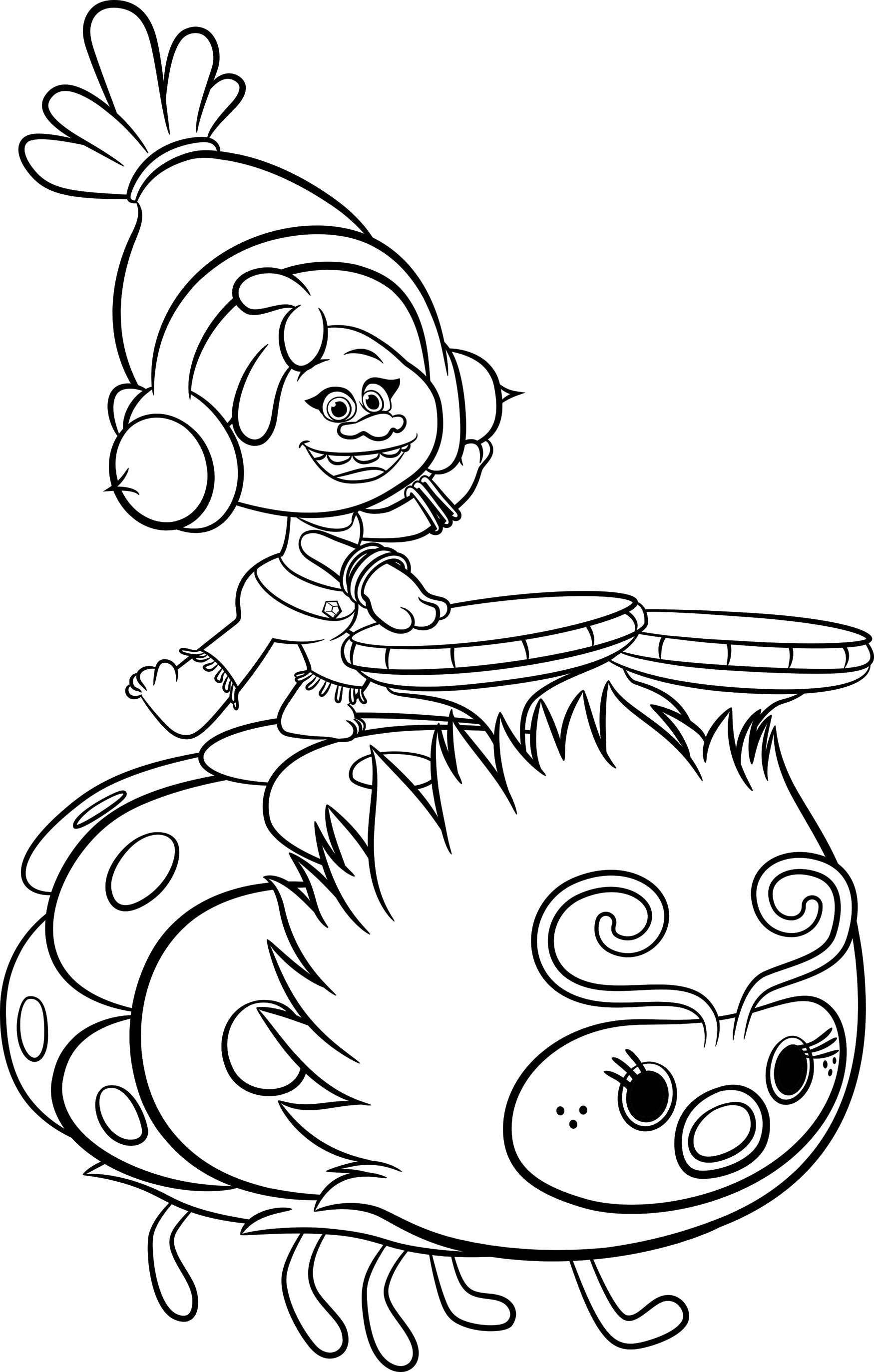 Online Coloring Pages Trolls