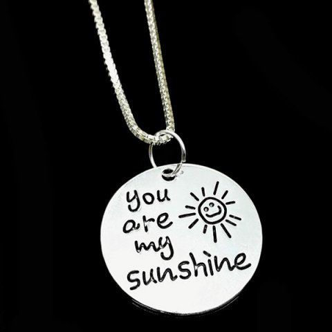 GET $50 NOW   Join RoseGal: Get YOUR $50 NOW!http://m.rosegal.com/necklaces/carved-you-are-my-sunshine-776144.html?seid=7816600rg776144