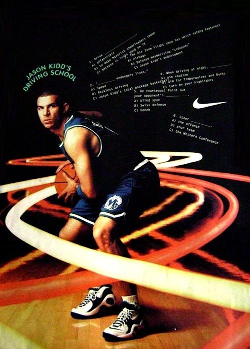 the best attitude 11709 d7dfd Nike Zoom Flight 95 Jason Kidd ad | Nike Air Zoom Flight 95 | Mis Zapas