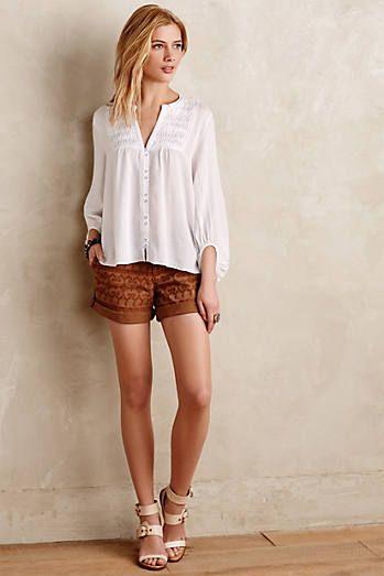 Pilcro Hyphen Embroidered Chino Shorts Παντελόνια 955d891d9e5