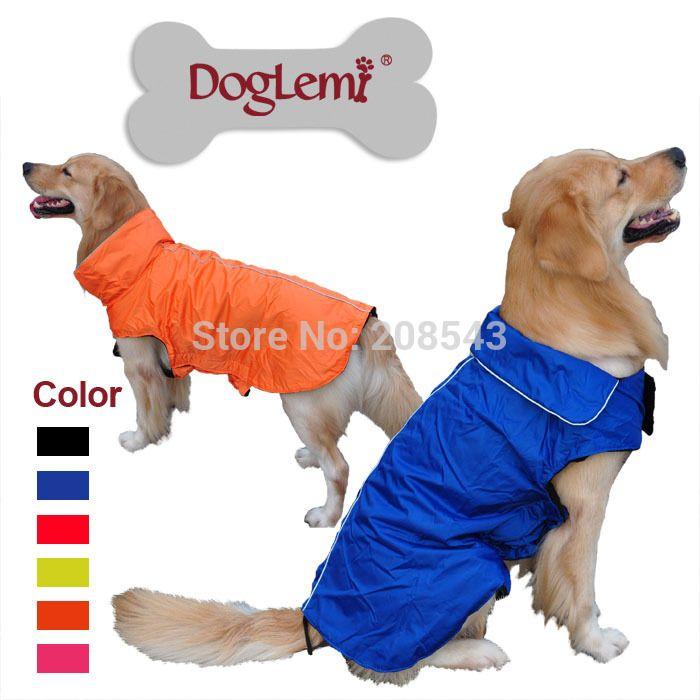Find More Dog Coats Jackets Information About Doglemi Pet Shop Waterproof Fleece Dog Raincoat Dog Waterproof C Dog Winter Clothes Dog Coats Large Dog Clothes