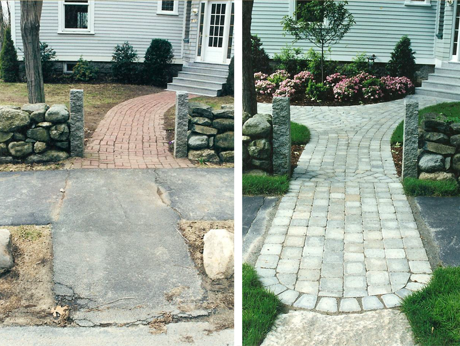 explore before after landscape design and more