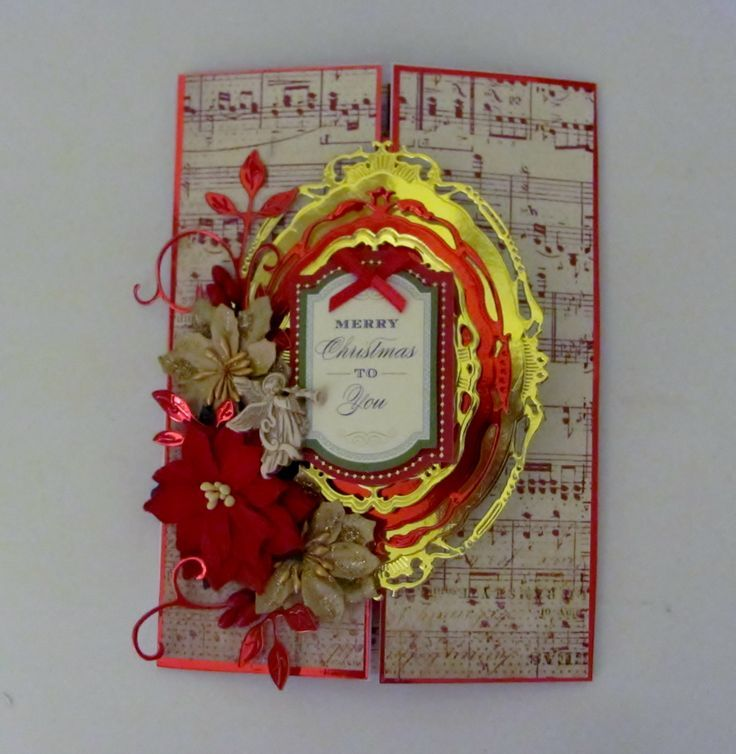 Christmas Card - Bi Fold - 1 - Scrapbook.com