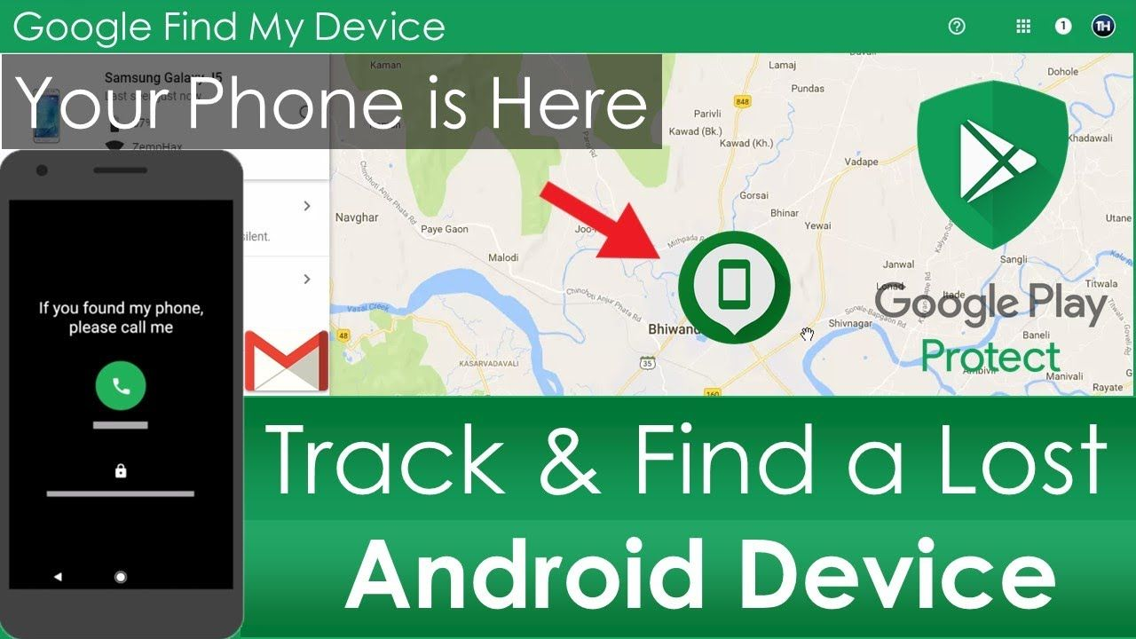 How to Find or Track a Android Phones From Your Google