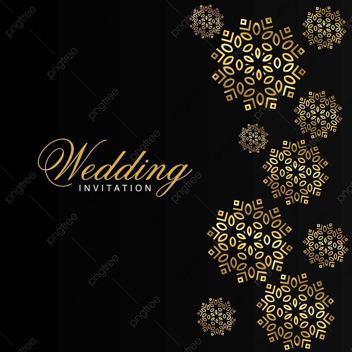 Gambar Perkahwinan Kad Dengan Kreatif Desain Dan Elegent Gaya Seni Latar Belakang Indah Png Dan Vektor Untuk Muat Turun Percuma Wedding Invitation Card Template Wedding Invitation Templates Gender Reveal Invitations Template