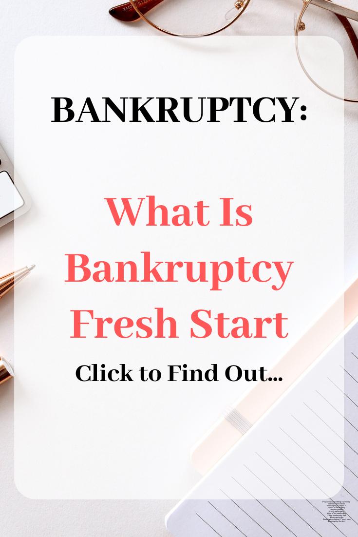 Bankruptcy Fresh Start Credit Repair Companies Credit Repair Business Bankruptcy