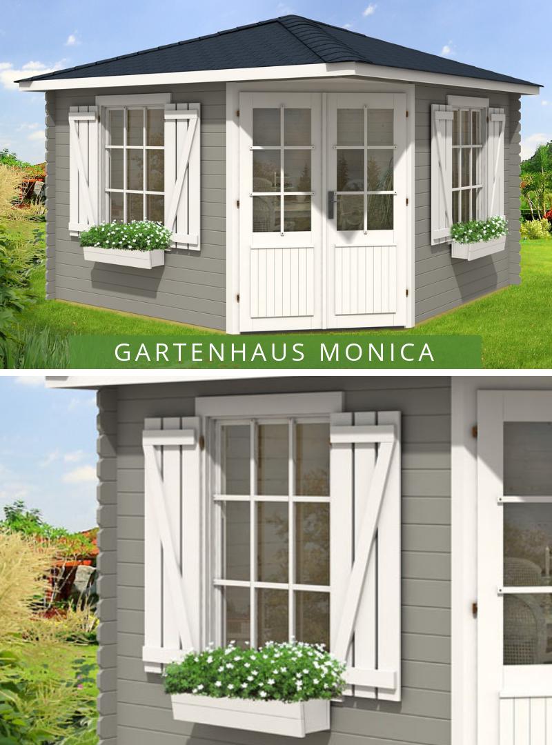 5Eck Gartenhaus Monica Royal (ISO) Gartenhaus, 5 eck