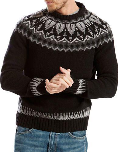 LEVI'S Levi'S Fair Isle Wool Sweater. #levis #cloth #   Levi'S Men ...