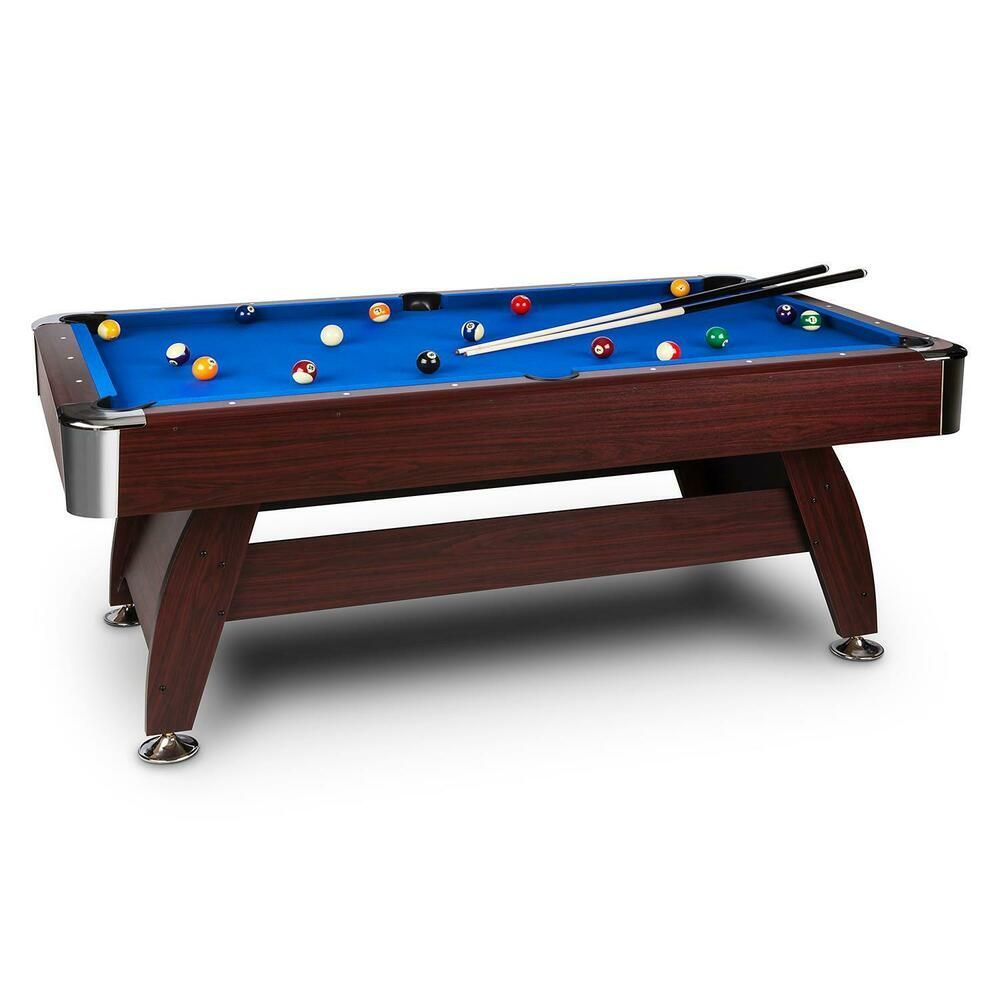 Ebay Sponsored Table Billiard Bar American Snooker Pool 7 B Ebay Sponsored Table Billard Bar Americain In 2020 Recreational Room Pool Table Billiard Pool Table