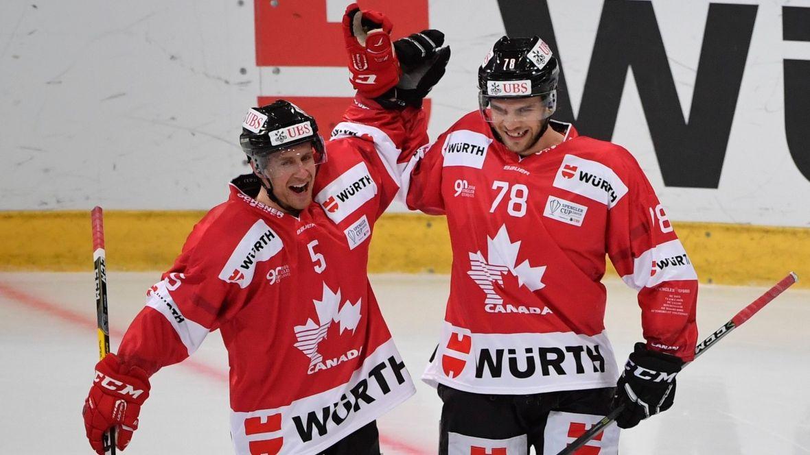 Canada wins 2ndstraight Spengler Cup Spengler cup