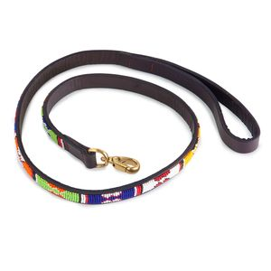 THE KENYAN COLLECTION || Primary Colors Dog Lead