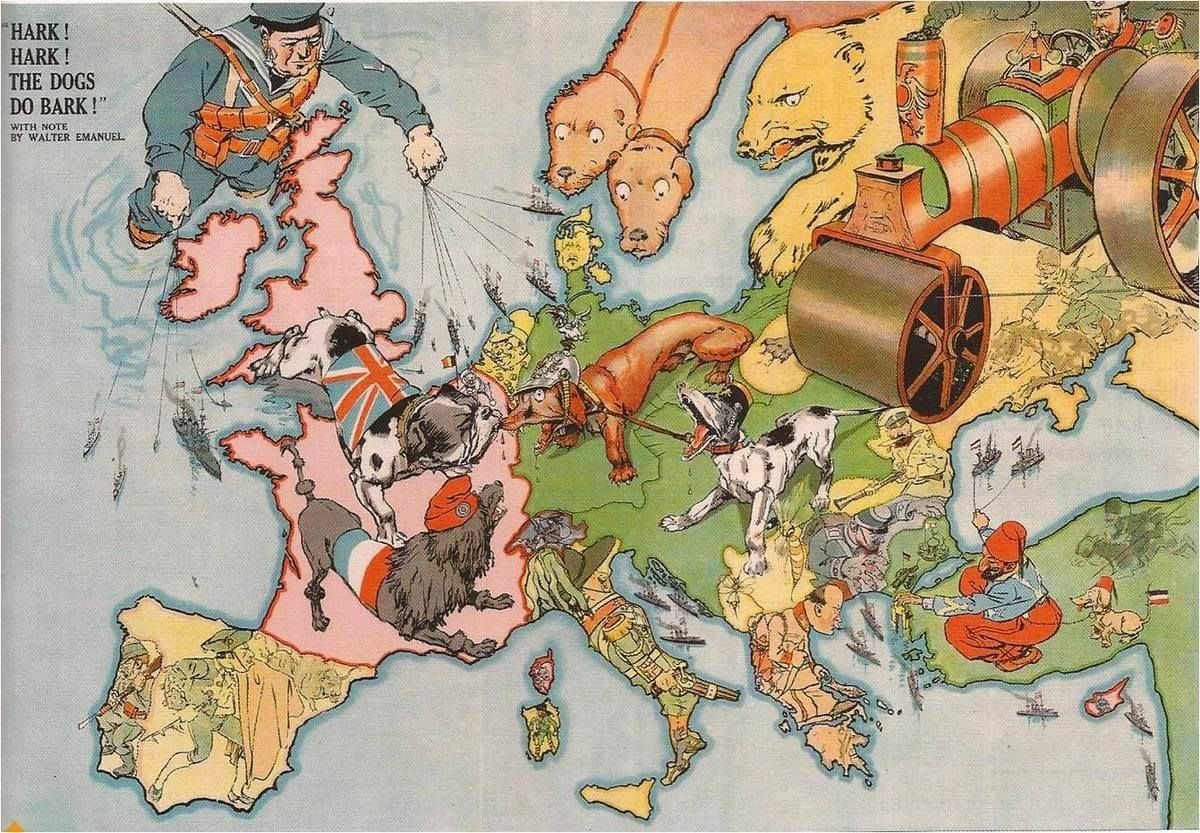 Explore Europe 1914 Dog Art and more