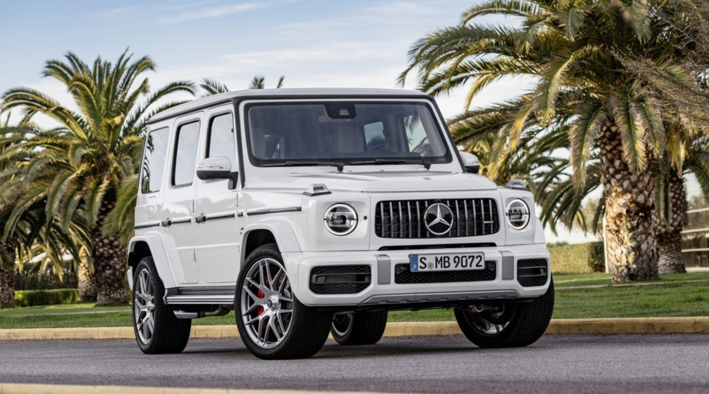 New 2019 Mercedes Amg G63 Gets Massive Makeover With Images