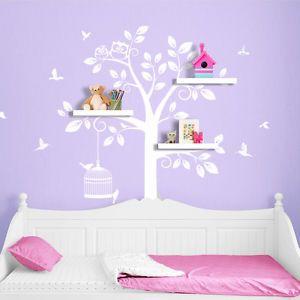 Amazing Details zu Wandtattoo Wandsticker Wandaufkleber Kinderzimmer Baum XXL Eule V gel W