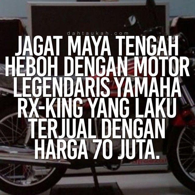 Jagat Maya Tengah Heboh Dengan Motor Legendaris Yamaha Rx King