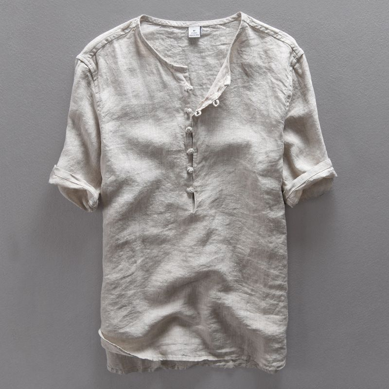Cheap Chemise Fashion Buy Quality Designer Chemise Directly From China Linen Men Shirt Suppliers Simp Summer Shirts Men Men Shirt Style Casual Shirts For Men