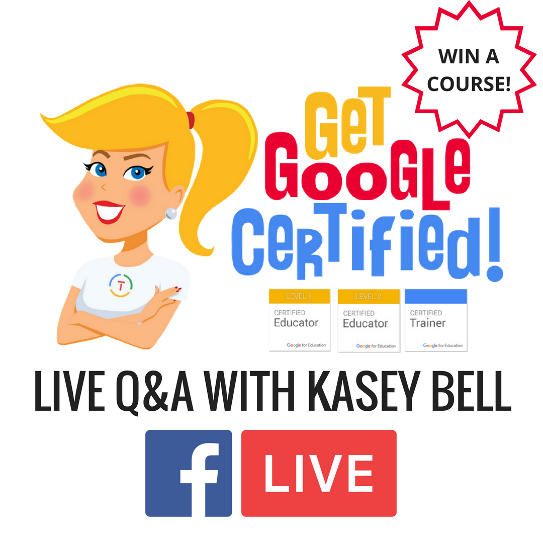 Google Certification Live Qa With Kasey Bell Educational
