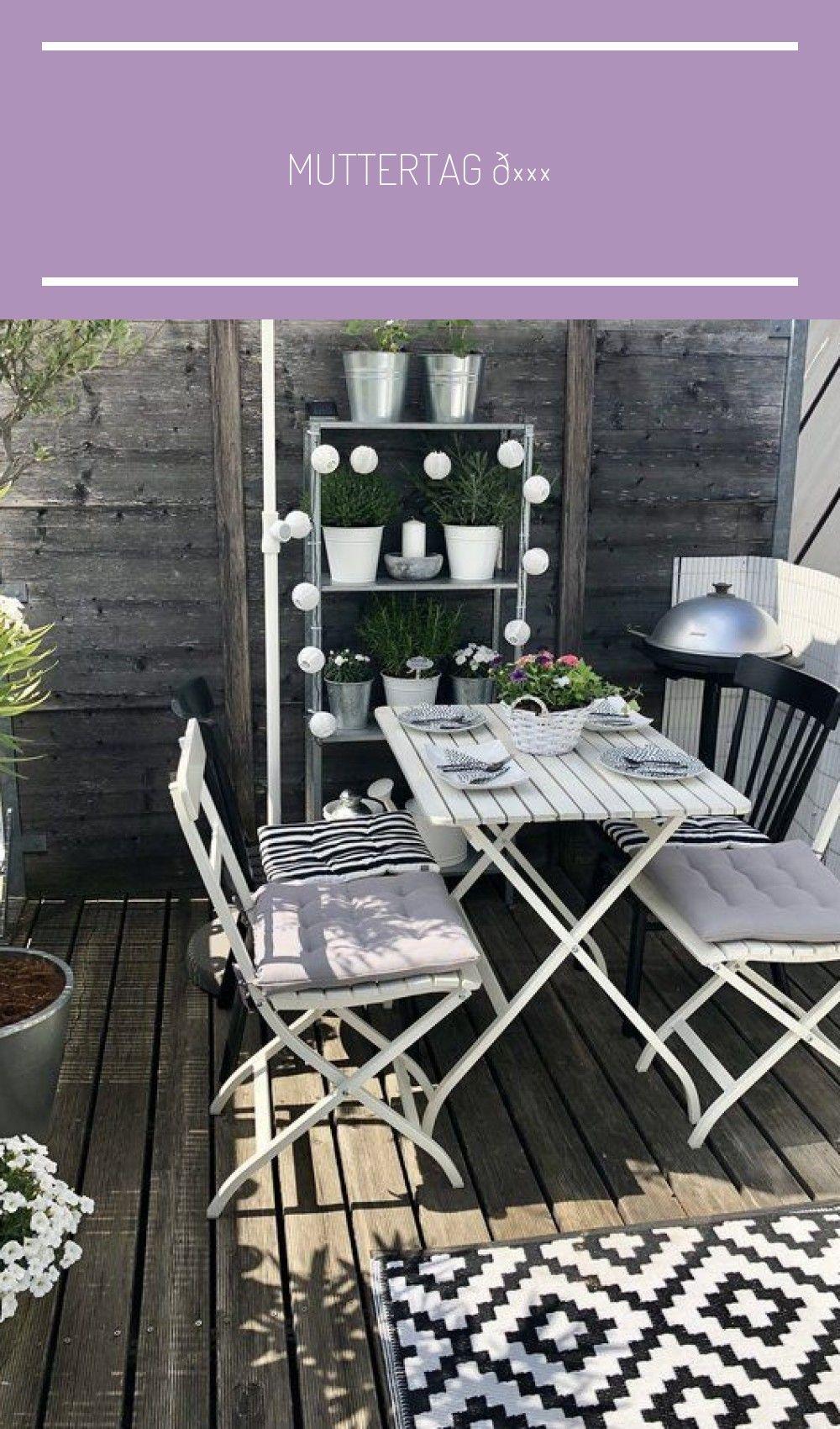 Muttertag  | SoLebIch.de #balkon ideen dekoration sichtschutz Muttertag ???? #sichtschutzfürbalkon