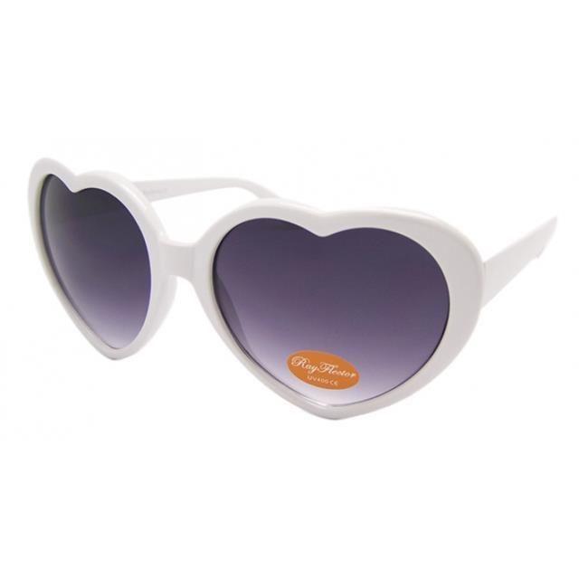 Fashion Cute Retro Love Heart Shape Festival Sunglasses Fancy Dress Party H4