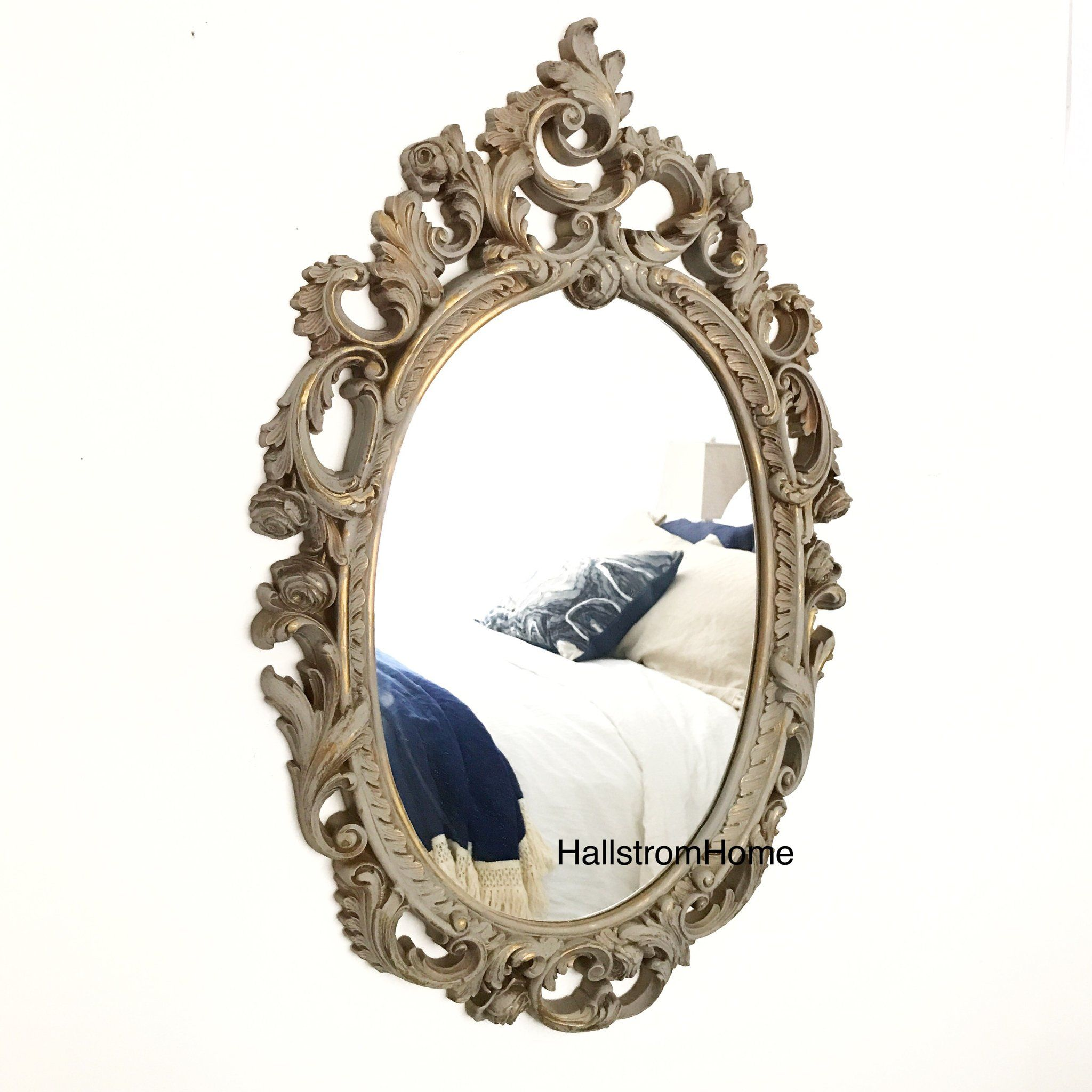 Ornate Shabby Chic Wall Mirror Shabby Chic Mirror Wall Shabby Chic Room Shabby Chic Furniture [ 2048 x 2048 Pixel ]