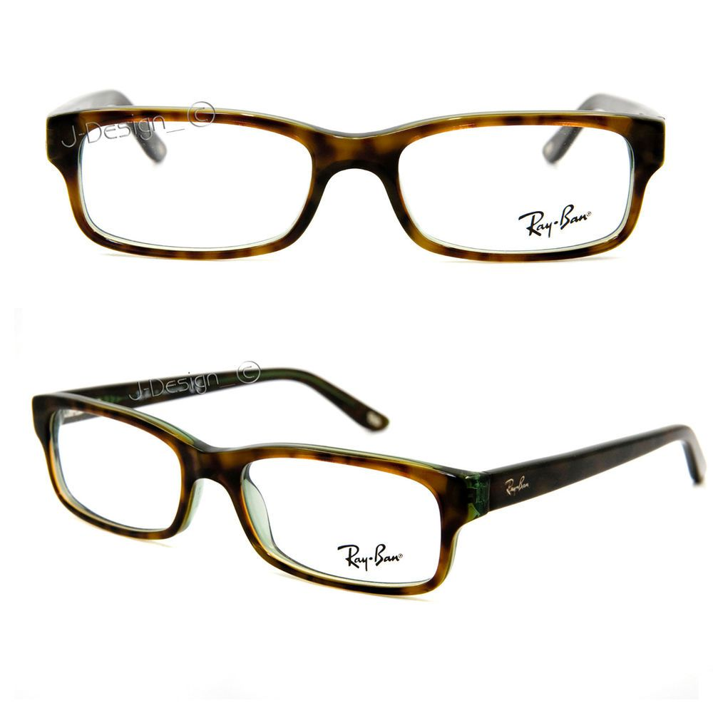 d80f6c0033 Ray Ban RB 5187 2445 Havana on Green size 50 16 140 Eyeglasses Rx - New