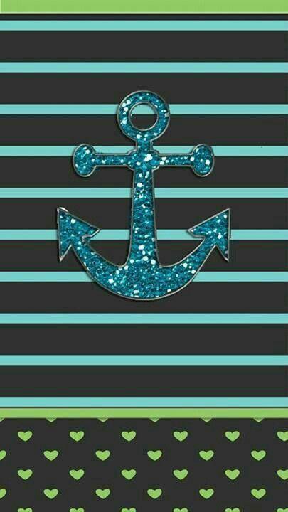 Anchor Wallpaper Chevron Sparkle Iphone Backgrounds Wallpapers Art Nautical