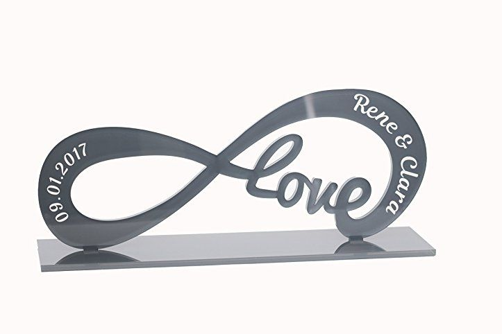 Geschenk Idee Aus Acryl Standbild Mit Gravur Deko Love