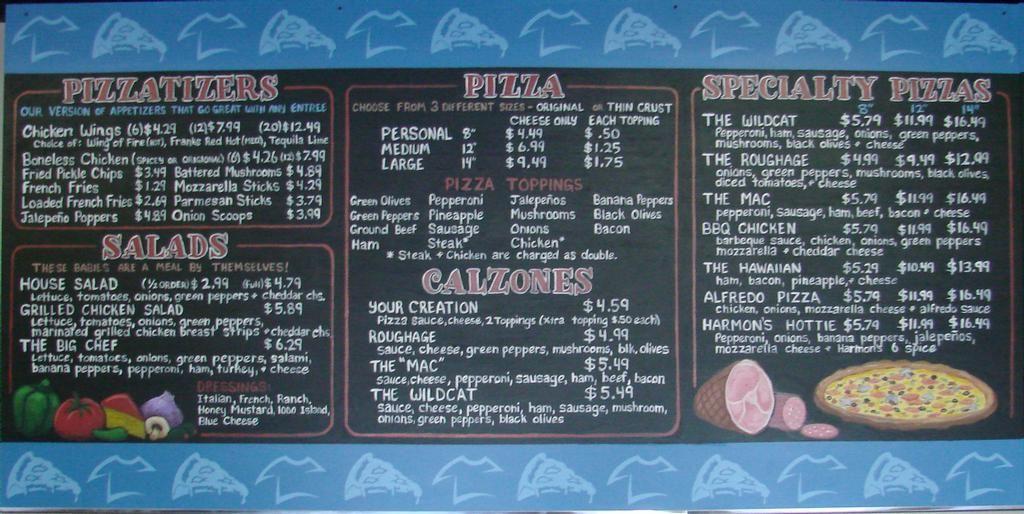 Harmon's Chalkboard menu board .JPG by ArtFX Design Studios | Art ...