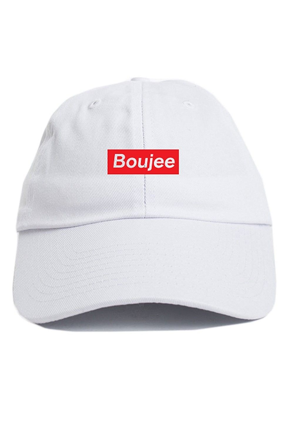 aaba106fb Boujee Supreme Dad Hat Baseball Cap Unstructured New - White ...