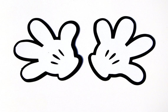 photo about Mickey Mouse Hands Printable referred to as Mickey Mouse Glove Die Reduce , Disneys Mickey Mouse Clubhouse