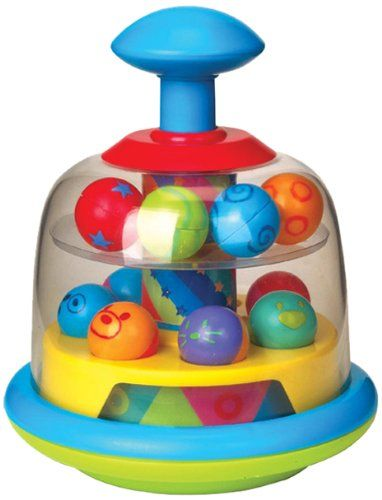Fun Time Spinning Popping Pals Color may vary