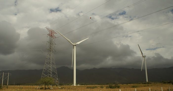 Parques eólicos en el itsmo de Tehuantepec. Foto: Cuartoscuro.